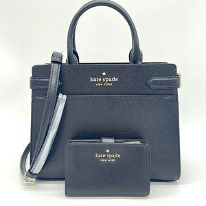 Kate Spade Medium Compact Satchel & Bifold Wallet